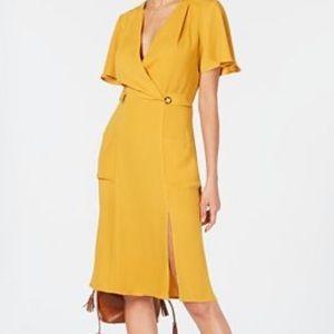 Monteau Faux Wrap Dress